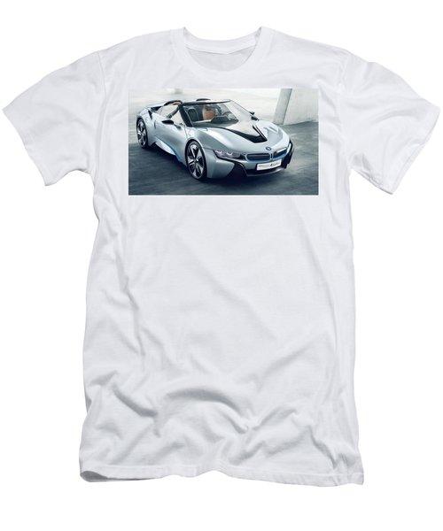 Bmw I8 Concept Spyder Men's T-Shirt (Athletic Fit)