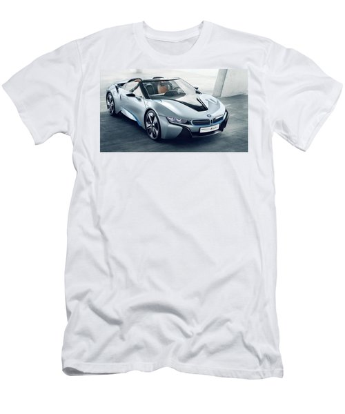 Bmw I8 Concept Spyder Men's T-Shirt (Athletic Fit)