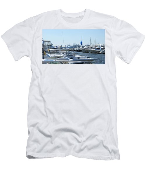 Boat Show On The Bay Men's T-Shirt (Athletic Fit)