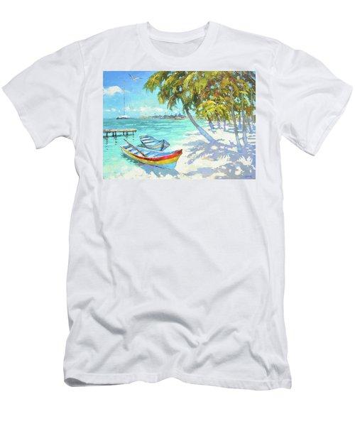 Boats  Men's T-Shirt (Slim Fit)