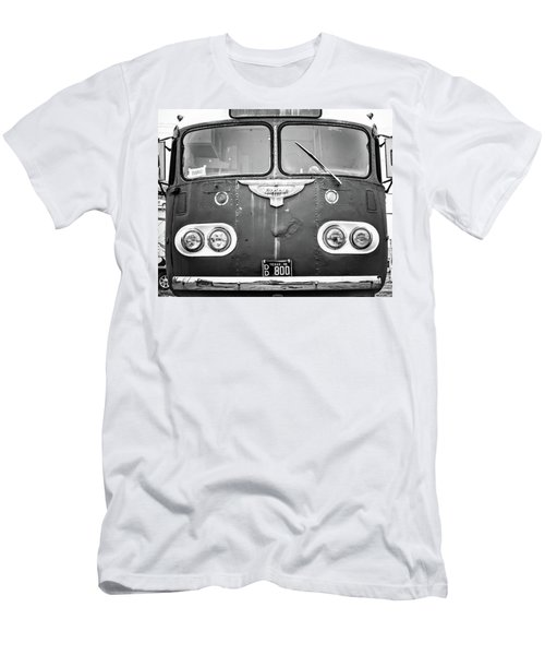 Bob Wills Tour Bus Bw Men's T-Shirt (Athletic Fit)