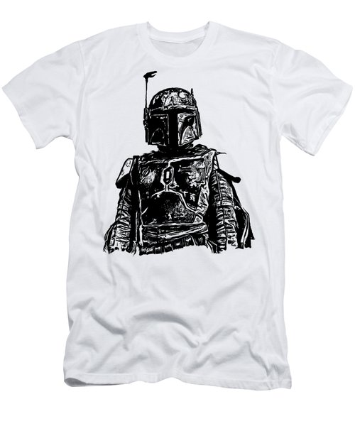 Boba Fett From The Star Wars Universe Men's T-Shirt (Athletic Fit)