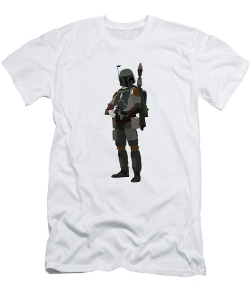 Boba Fett Star Wars Character Quotes Poster Men's T-Shirt (Athletic Fit)