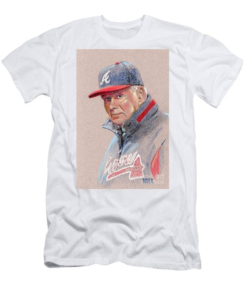Bobby Cox Men's T-Shirt (Slim Fit) by Donald Maier