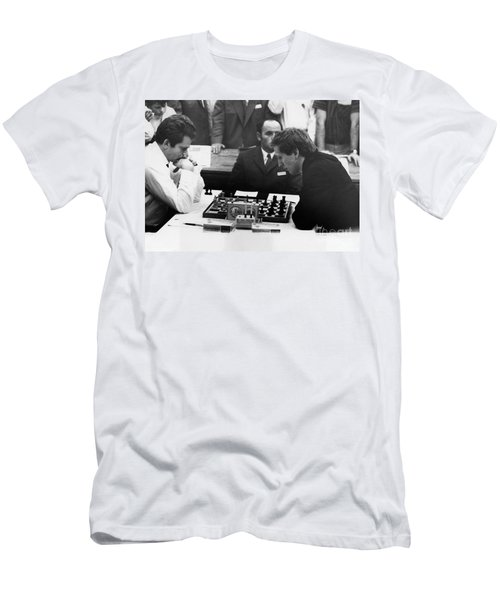 Bobby Fischer (1943-2008) Men's T-Shirt (Athletic Fit)