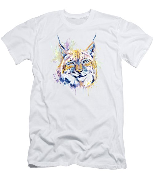 Bobcat Head Men's T-Shirt (Athletic Fit)