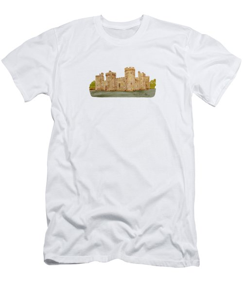 Bodiam Castle Men's T-Shirt (Athletic Fit)