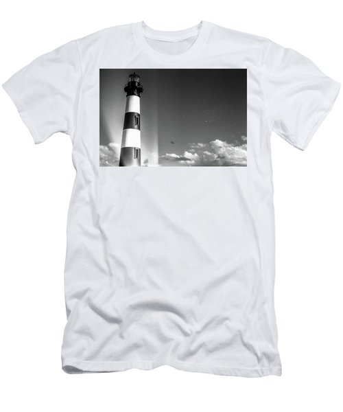 Bodie Island Lighthouse Men's T-Shirt (Athletic Fit)