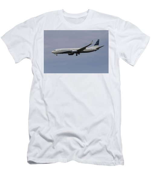 Boeing 737 Private Jet Men's T-Shirt (Athletic Fit)