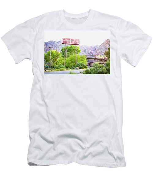 Bonnie Springs Motel Resort Men's T-Shirt (Athletic Fit)