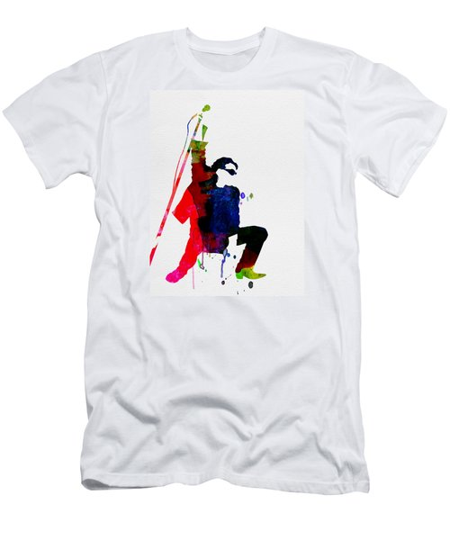 Bono Watercolor Men's T-Shirt (Athletic Fit)