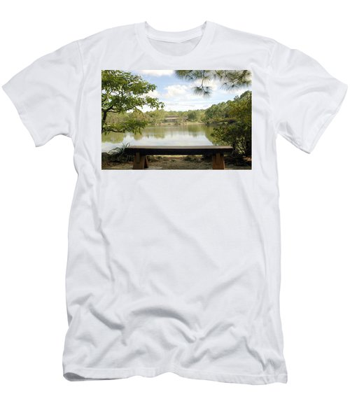 Bonsai Lake Men's T-Shirt (Athletic Fit)