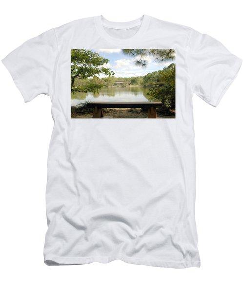 Bonsai Lake Men's T-Shirt (Athletic Fit)