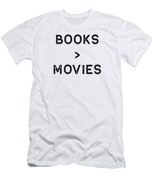 Book Shirt Over Movies Dark Reading Authors Librarian Writer Gift Men's T-Shirt (Athletic Fit)