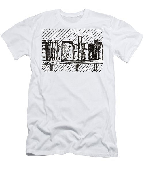 Bookshelf 1 2015 - Aceo Men's T-Shirt (Athletic Fit)