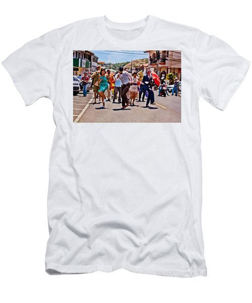 Boquete Jazz Festival 2012 Men's T-Shirt (Athletic Fit)