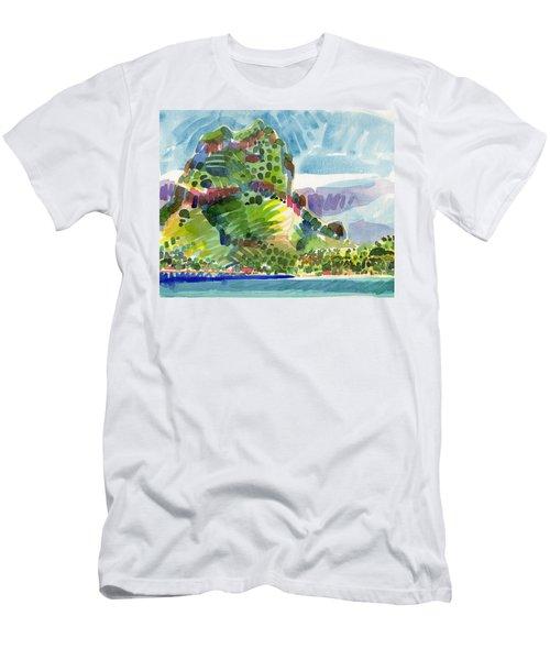 Bora Bora Men's T-Shirt (Athletic Fit)
