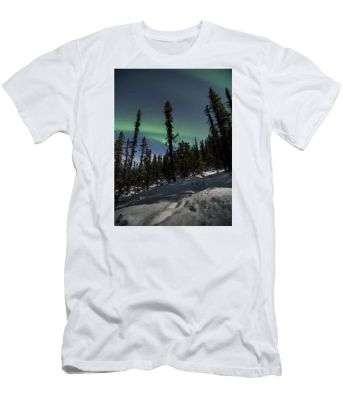 Boreal Forest Essence Men's T-Shirt (Athletic Fit)