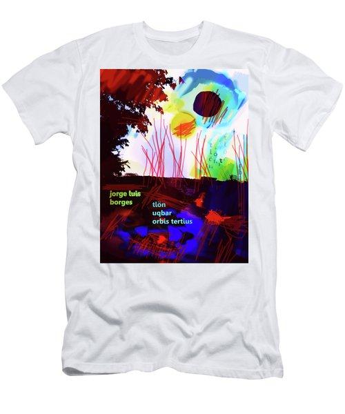 Borges Tlon Poster 2 Men's T-Shirt (Athletic Fit)