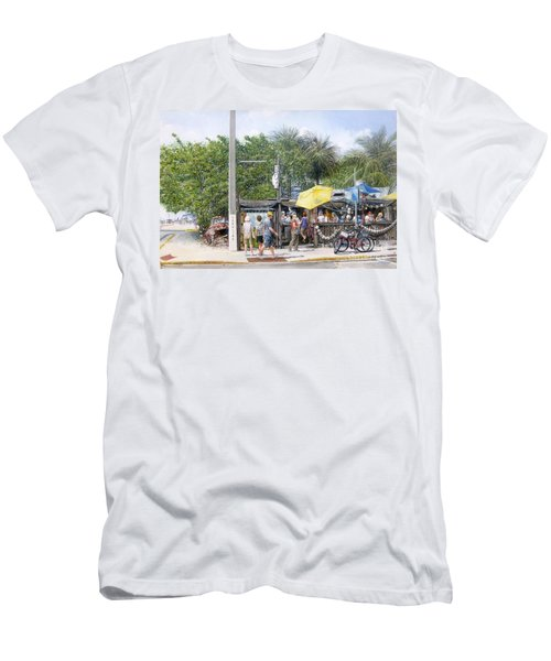 Bos Fish Wagon Men's T-Shirt (Athletic Fit)