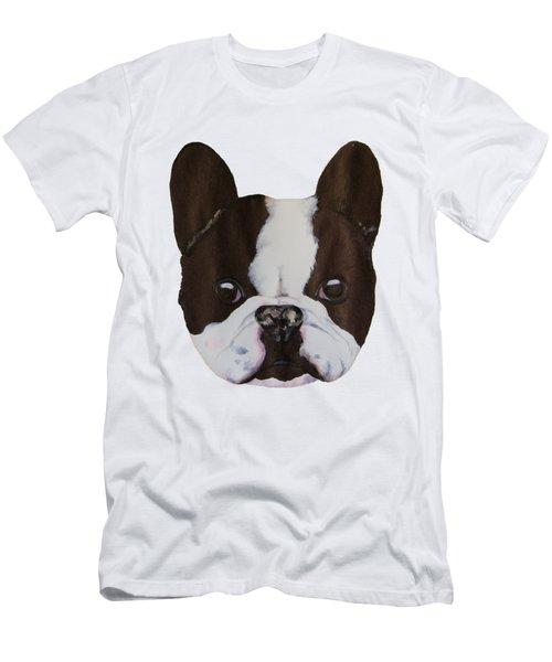 Boston Terrier Men's T-Shirt (Slim Fit) by John Stuart Webbstock