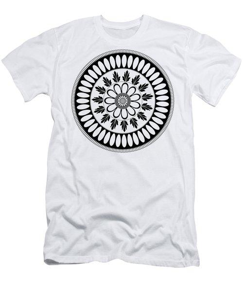 Botanical Ornament Men's T-Shirt (Athletic Fit)