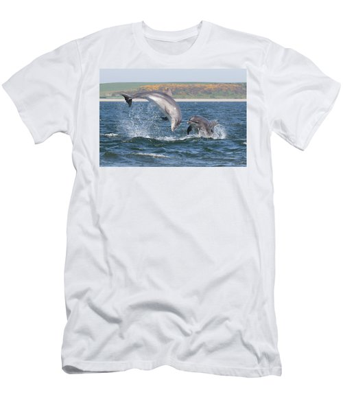 Bottlenose Dolphin - Moray Firth Scotland #49 Men's T-Shirt (Athletic Fit)