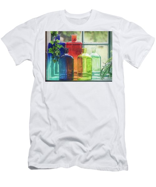Bottles In The Window Men's T-Shirt (Athletic Fit)