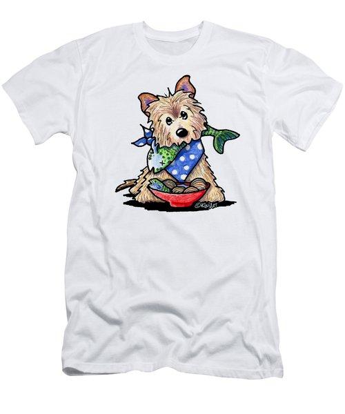 Bouillabaisse Cairn Terrier Men's T-Shirt (Athletic Fit)