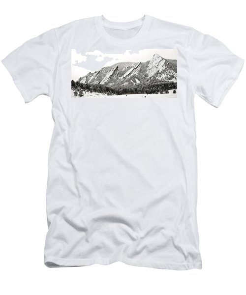 Boulder Flatirons Colorado 1 Men's T-Shirt (Athletic Fit)