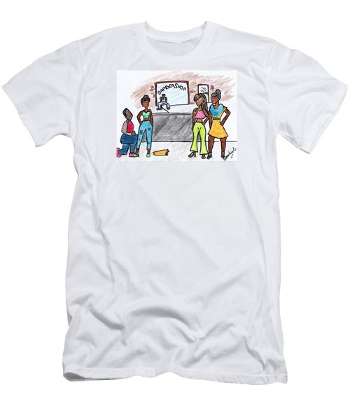 Boy Please Men's T-Shirt (Slim Fit) by Diamin Nicole