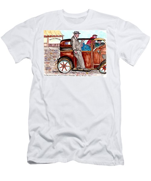 Bracco Candy Store - Window To Life As It Happened Men's T-Shirt (Slim Fit) by Philip Bracco