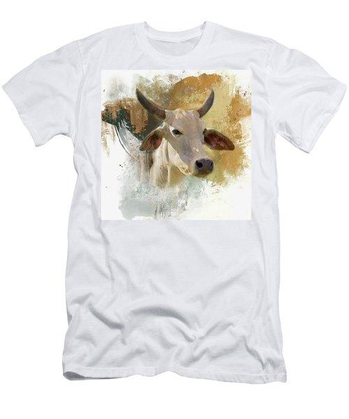 Brahma Portrait Men's T-Shirt (Athletic Fit)