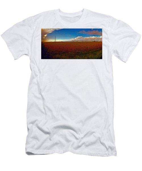 Bread Basket Dusk Men's T-Shirt (Slim Fit) by Dave Luebbert