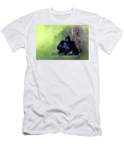 Break Time Men's T-Shirt (Slim Fit) by Cyndy Doty