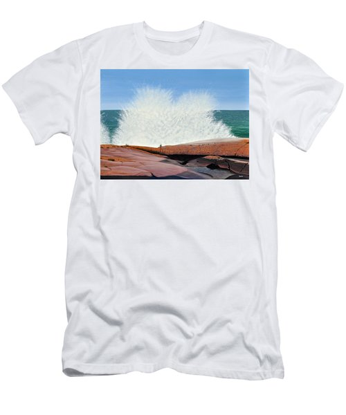 Breakers On Georgian Bay Men's T-Shirt (Athletic Fit)