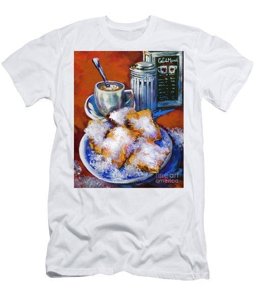 Breakfast At Cafe Du Monde Men's T-Shirt (Athletic Fit)