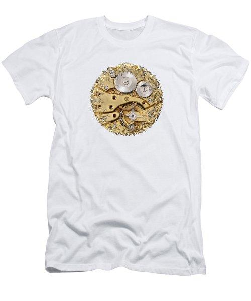 Breaking Apart Clockwork Mechanism Men's T-Shirt (Athletic Fit)