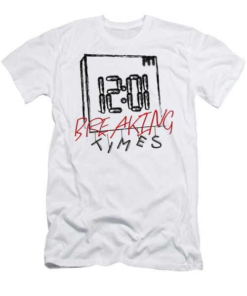 Breaking Times Men's T-Shirt (Athletic Fit)