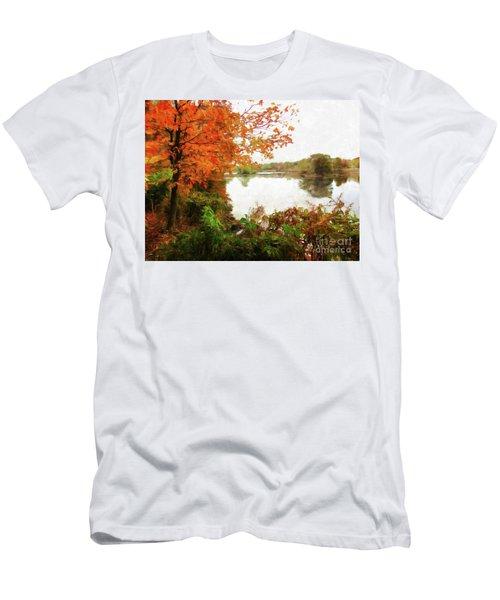 Breath Of Autumn Men's T-Shirt (Athletic Fit)