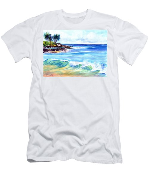 Brennecke's Beach Men's T-Shirt (Athletic Fit)