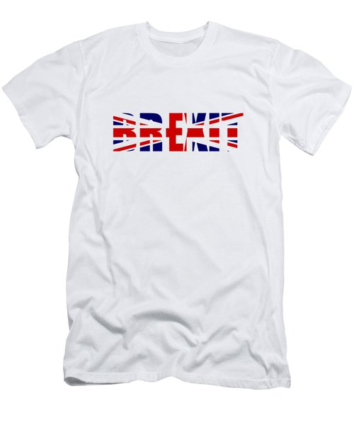 Brexit Men's T-Shirt (Slim Fit) by Roger Lighterness