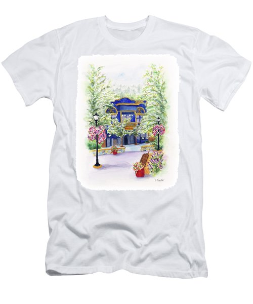 Brickroom On The Plaza Men's T-Shirt (Athletic Fit)
