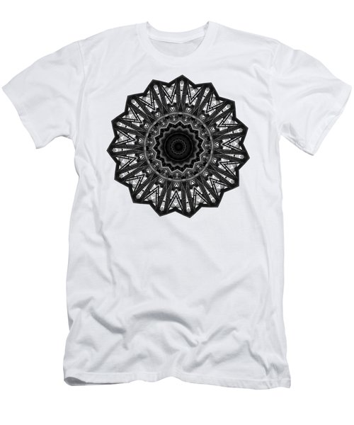 Bridge Construction Kaleidoscope By Kaye Menner Men's T-Shirt (Athletic Fit)