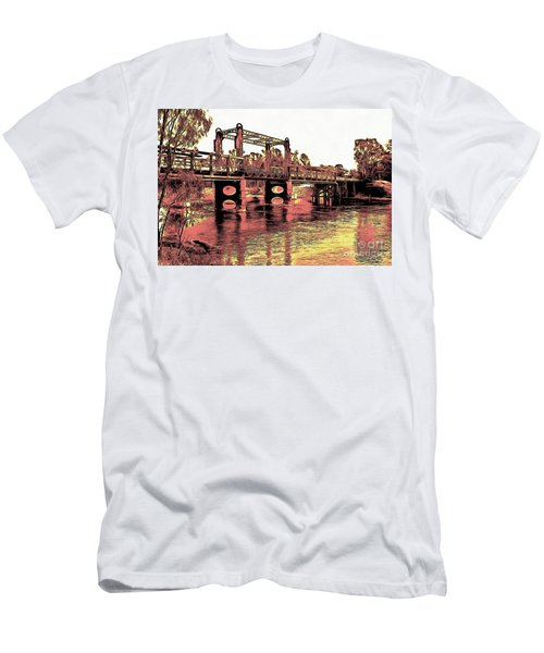 Bridge Over Murray River Men's T-Shirt (Athletic Fit)