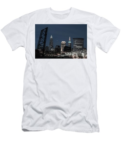 Bridges And Buildings Men's T-Shirt (Athletic Fit)