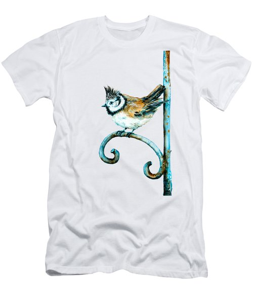 Bridled Titmouse Men's T-Shirt (Athletic Fit)