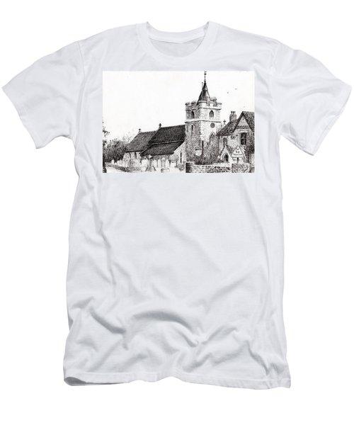 Brighstone Church Men's T-Shirt (Athletic Fit)