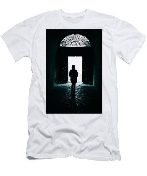 Bright Ancient Doorway Men's T-Shirt (Athletic Fit)