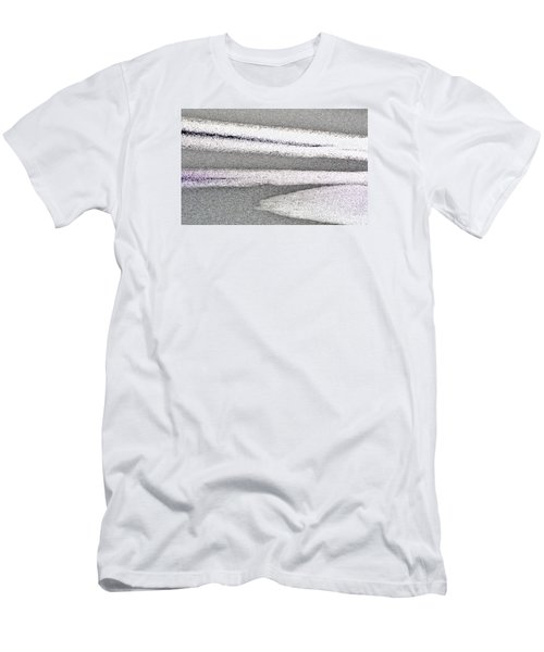 Bright Sun On The Ice  Men's T-Shirt (Slim Fit)